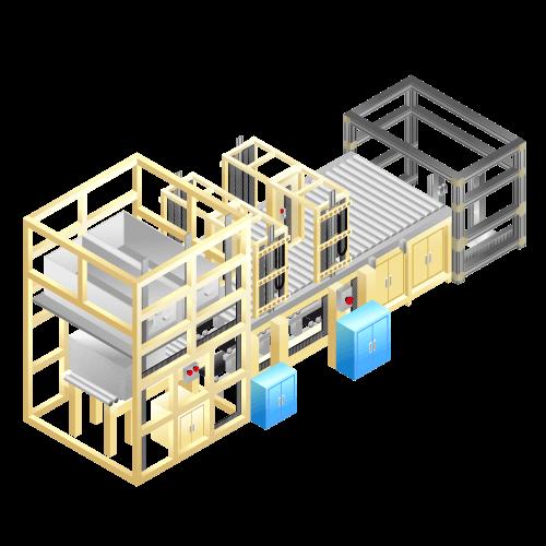 大型ガラス搬送装置