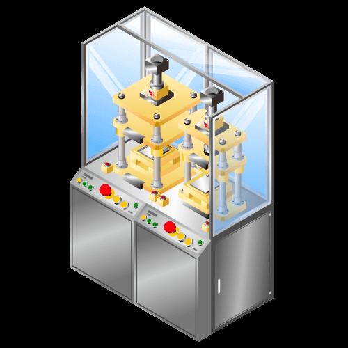 少量生産向きリチウムイオン等二次電池用 ラミネート三方ヒートシール機