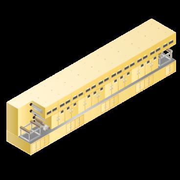 リチウムイオン等二次電池用 コータ(塗工機)