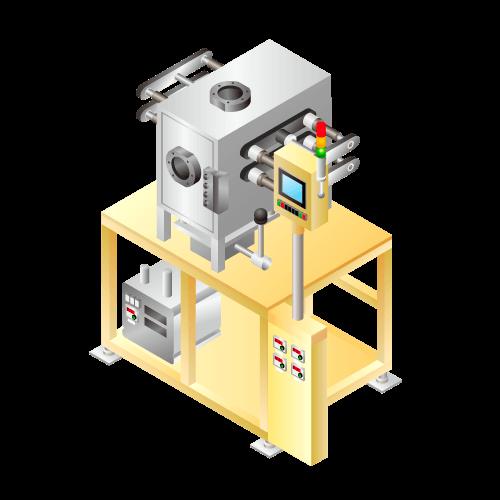 リチウムイオン等二次電池用 デガス(ガス抜き)・封止装置