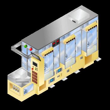 胶材涂布机(附带轨道修正功能)