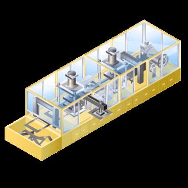 リチウムイオン等二次電池用 ラミネート成形装置