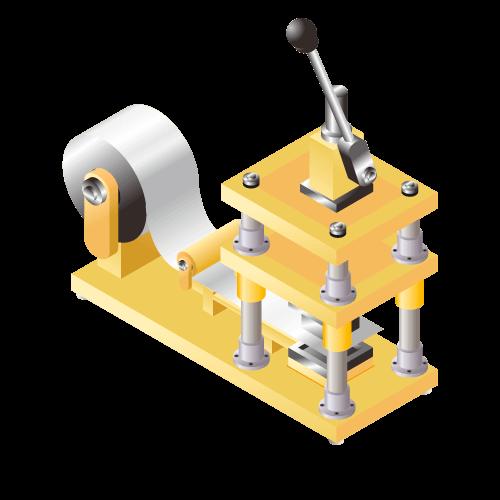 少量生産向きリチウムイオン等二次電池用 ラミネート成形(カップ成形)機